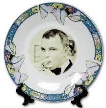 Фото на тарелках
